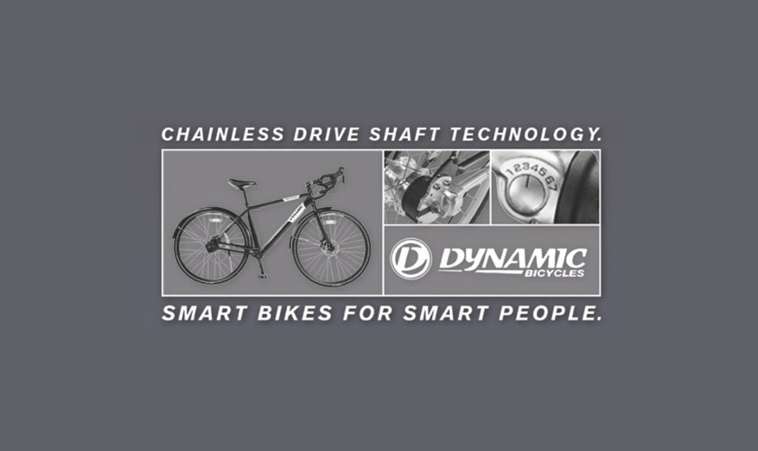 Dynamic Bicycles Chainless Drive Shaft Technolody