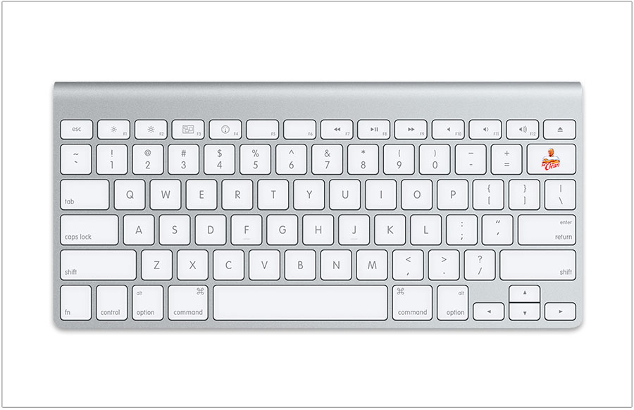 Print Ad by Jamie Kakleas for Mr. Clean Delete Dirt Keyboard