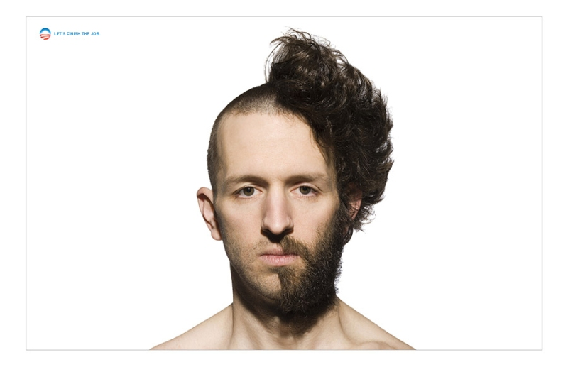 Obama 2012 - Haircut